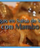 Albondigas en Salsa de Verduras con Mambo
