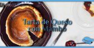 Tarta de Queso con Mambo