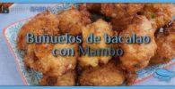 Buñuelos de bacalao con Mambo