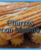 Churros (porras) con Mambo