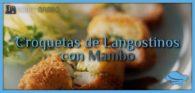 Croquetas de langostinos con Mambo