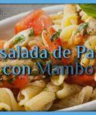 Ensalada de pasta con Mambo