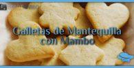 Galletas de Mantequilla con Mambo