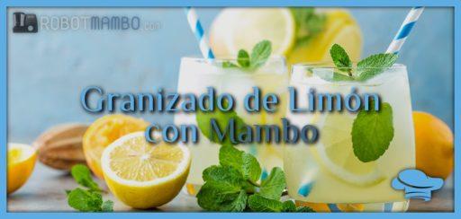 Granizado de limón con Mambo