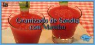 Granizado de sandía con Mambo