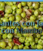 Guisantes con jamón con Mambo