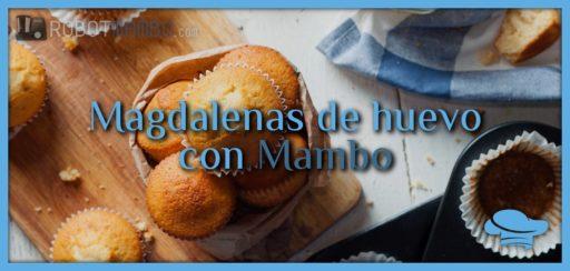 Magdalenas de huevo con Mambo