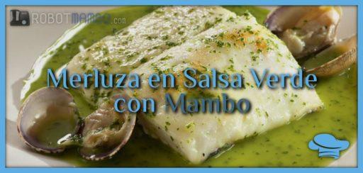 Merluza en salsa verde con Mambo