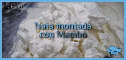 Nata montada con Mambo