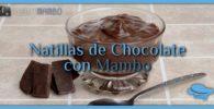 Natillas de chocolate con Mambo