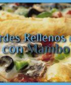 Pizza bordes rellenos de queso con Mambo