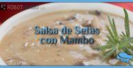 Salsa de setas con Mambo