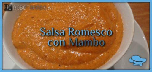 Salsa romesco con Mambo