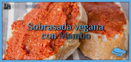 Sobrasada vegana con Mambo