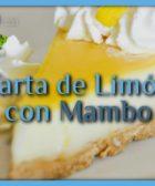 Tarta de limón con Mambo