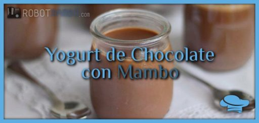 Yogurt de chocolate con Mambo