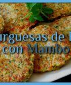 Hamburguesas de Brocoli con Mambo