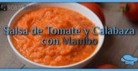 Salsa de Tomate y Calabaza con Mambo